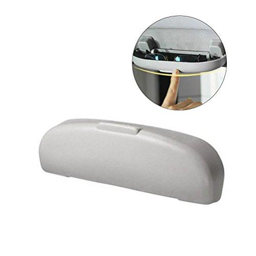 WINOMO Portaocchiali auto, Custodia occhiali auto anteriore di 21.5 x 6 x 3cm