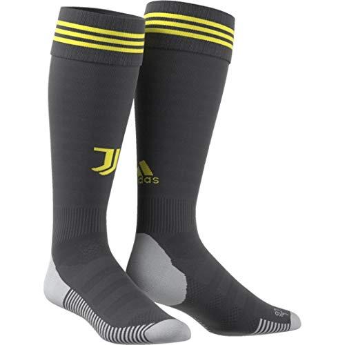 adidas Juventus Third Carbono, Amarillo Masculino - Calcetines (Calcetines hasta Media Pantorrilla, Carbono, Amarillo, Niño, Masculino, 40-42, Específico)