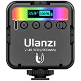 Ulanzi VL49 RGB Mini Multi Color LED Videolampe für...