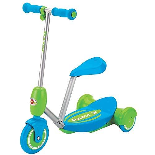 Razor Lil' E Seated Escúter eléctrico, Niños, Azul, One Size