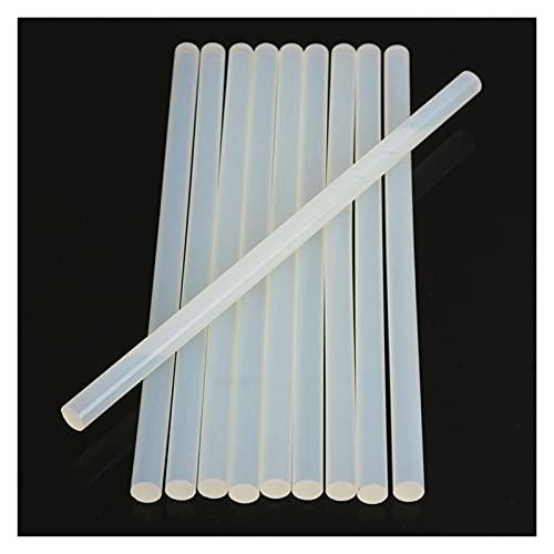 A1-Brave Barras de Silicona, 20 unids Hot Melt Glue Stick para Pistola de Pegamento de Calor High Viscosity Clear Adhesive Glue Sticks Dir DIY Herramienta de Mano (Diameter :...