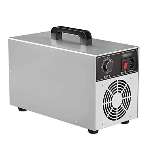 GXXDM Generador de ozono 3000Mg / H Neutralizador portátil Purificador de Aire O3 Comercial e Industrial para desinfectar y desinfectar el Aire eliminando Virus, Hongos, bacterias, alérg ✅