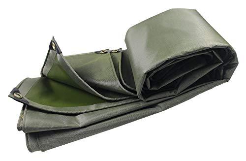 Bâche robuste résistant à l'eau Bâche robuste ps 4 x 3 M Bâches , Convient pour jardinage imperméable hamac de pêche tente de mouche de pluie empreinte de bâche camping abri tissu de sol, multi-taille