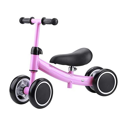 SUYANG 1-2 Años De Edad Baby Balance Training Mini Bike Scooter Walker Scooter (Rosa)