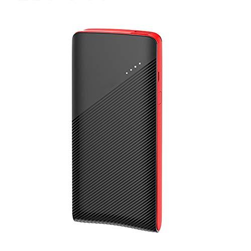 GWX draagbare mobiele stroomvoorziening 10000 mAh, externe accu met hoge capaciteit en dubbele USB-uitgang, compatibel met mobiele telefoons/tablets enz.