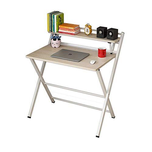 AGGF Escritorio de computadora Escritorio Simple Mesa Plegable Escritorio Dormitorio Escritorio de Estudiante Simple Moderno hogar Mesa pequeña