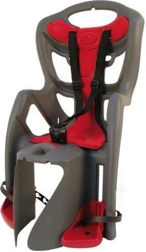 Bellelli Pepe Kids Bicycle Seat - Black/Red