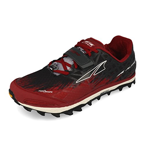 ALTRA Men's King Mt 1.5 Trail Running Shoe, Red, 9