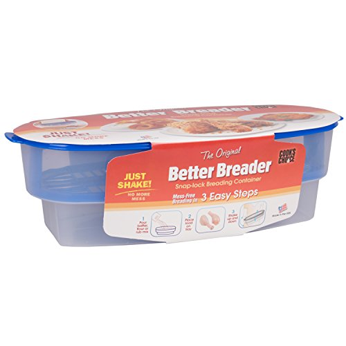 Breader Batter Bowl- All-in-One Mess-Free Breading Station