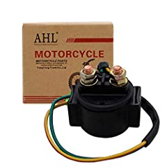 Fits: Honda ATC250 SX 1985 1986 1987 Replace Oem Code: 35850-HM3-000,35850-HB3-771,35850-HM8-000 High quality material,efficient and durable with competitive price OEM replacement starter relay solenoid,ideal for the motorbike Quality Assurance!If yo...