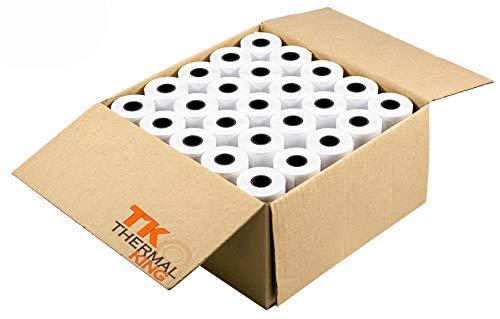 TK Thermal King, 2 1/4' x 85 ft Thermal Paper, 50 Rolls [TK Thermal King Brand]