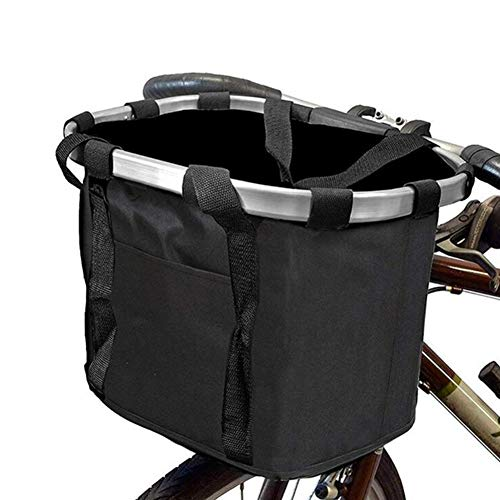Anmutigcelle Bike Basket, Small Pet Cat Dog Carrier Bicycle Handlebar Front...