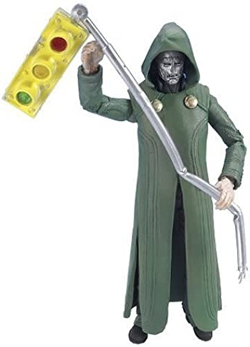 Fantastic 4 Series IV 6 Figure  Dr. Doom with rue lumière by Toy Biz