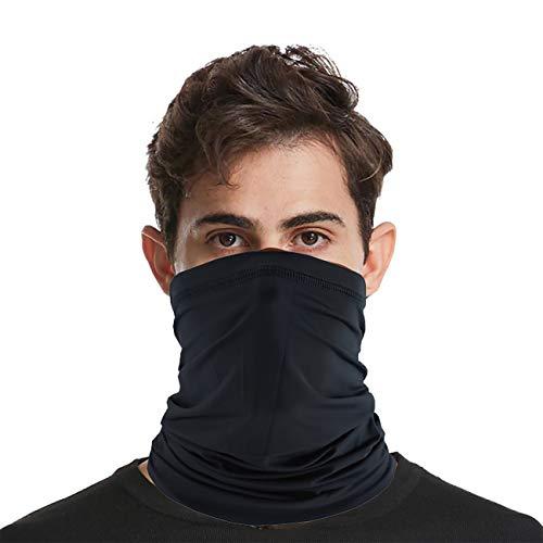 SANTOO Halstuch Schlauchtuch Mundschutz Nasenschutz Multifunktionstuch Atmungsaktiv Weich Super Elastisch Sonnenschutz Schlauchschal Gesichts Maske für Motorrad Laufen Wandern Damen Herren (Sommer)