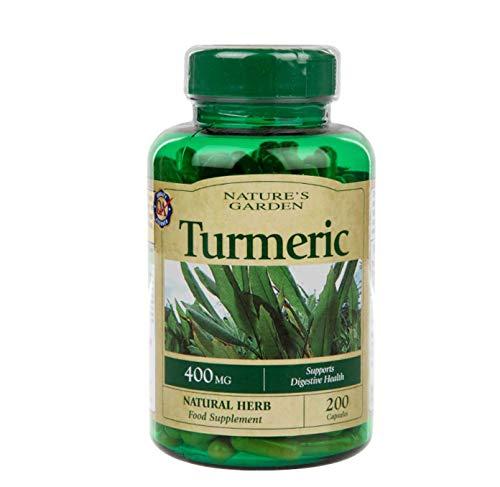 Nature's Garden Turmeric 400mg containing Curcumin 200 Capsules