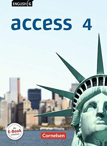 English G Access - Allgemeine Ausgabe: access: Access 4 Schulerbuch