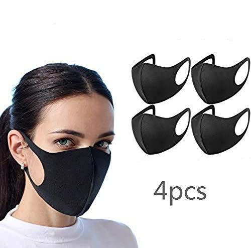 AiBLii 4 protezioni per il viso anti polvere, riutilizzabili e lavabili, unisex, per uso esterno 商品名称