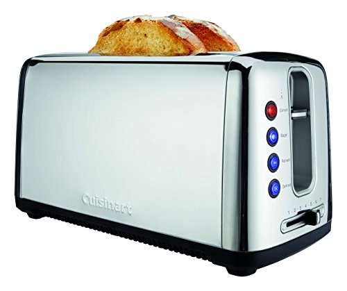 Cuisinart CPT-2400 The Bakery Artisan Bread Toaster, Chrome