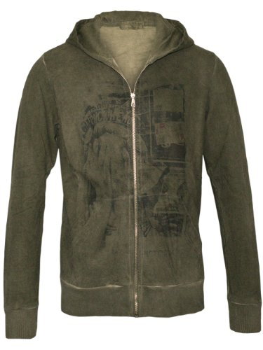 Athletic Vintage New York Homme Designer Hoodie Blouson - STATUE OF LIBERTY -M