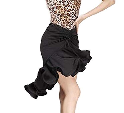 my cat Falda de cola de pez latina para mujeres adultas, disfraz de baile latino