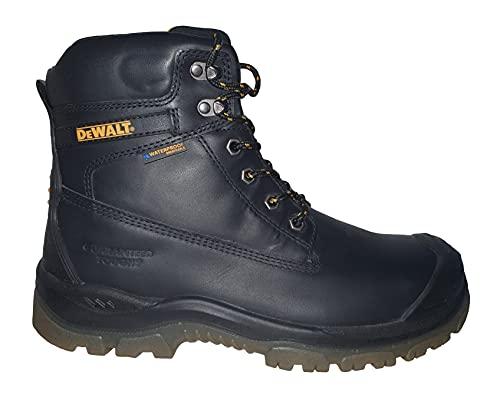 DEWALT Mens Titanium Waterproof Steel Toe Safety Boot Black UK 9