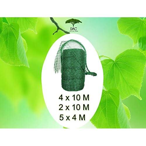 Rete Anti Uccelli Alta Qualita', Rete Balcone Per Gatti Varie Misure M Rete Protezione Per Giardino Piccioni Nylon Recinto Recinzione Per Animali E Piante Giardino Maglia 1,5 Antigrandine (✅4 X 10 ✅)