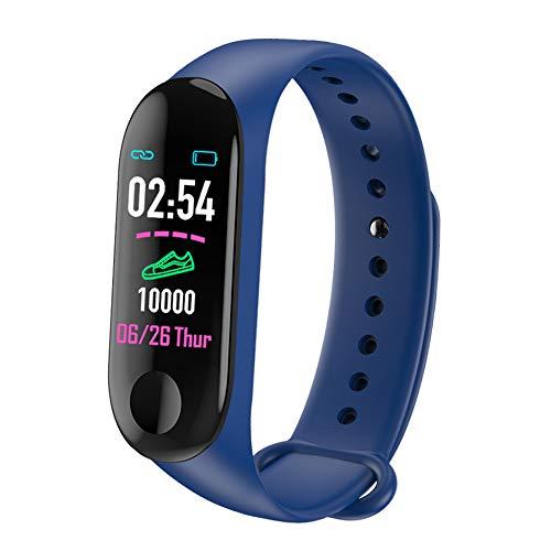 SHANGXIN Pulsera deportiva inteligente Bluetooth, pulsera de cámara, pulsera multifunción, puede manejar muchas cosas, es tu pequeño asistente en la vida.
