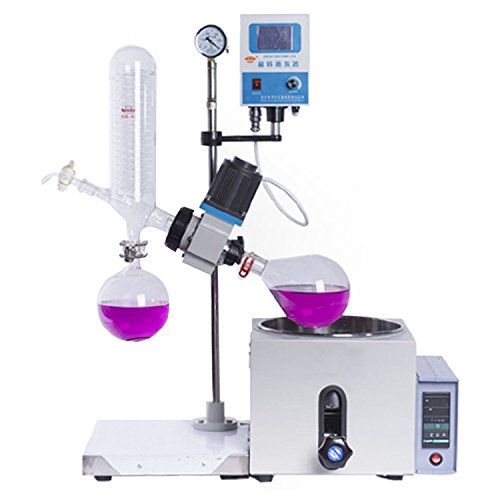 1L-5L 0-120rpm 0-99℃ Neuer Lab Rotationsverdampfer w/Motorlifter Digital Heizba RE-201D RE-501