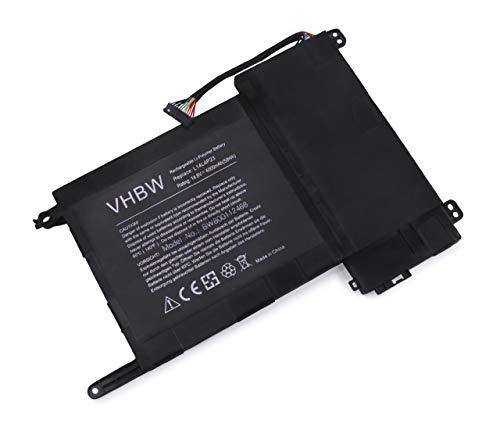 vhbw Li-Polymer batería 4000mAh (14.8V) para Notebook Laptop Lenovo IdeaPad Y700, Y700 Touch, Y700-15acz por L14S4P22, L14L4P23, L14M4P23.