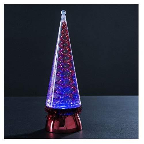 Générique - Sapin Lumineux Paillete Rouge - Bougie LED Décoration Noël - 280