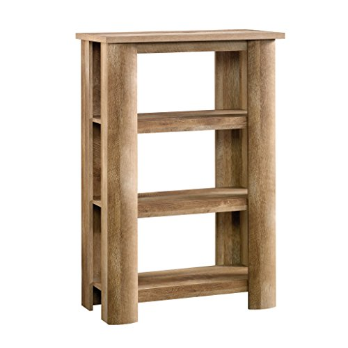 Sauder Boone Mountain Bookcase, Craftsman Oak finish