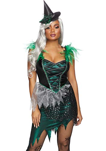 Women's Black Witch Costumes - Leg Avenue Women's Wicked Witch Costume,