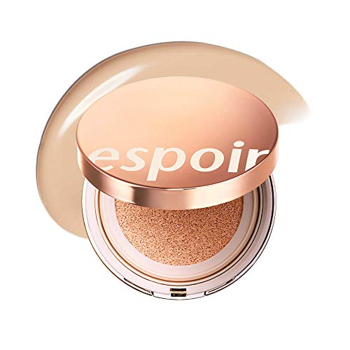 ESPOIR Pro Tailor Be Glow Cushion SPF42 PA++ #4 Beige (13g + refill 13g) | Natural Cover and Fresh Radiance for an All Day Bright Lasting Effect | Korean Makeup
