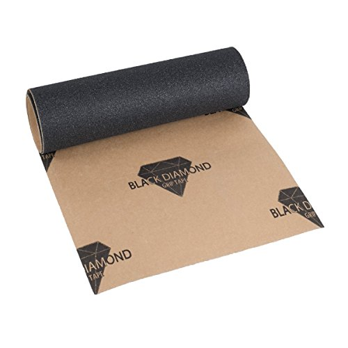 Skateboard Griptape von Black Diamond 1 Lage, 23x84cm Premium Griptape selbstklebend