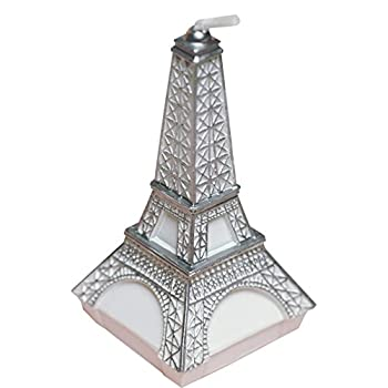 Birthday Candles Eiffel Tower Candles Smokeless Cake Topper Candle for Party Supplies and Wedding Favor