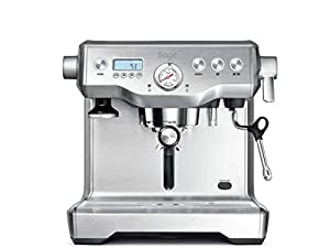 Sage BES920UK the Dual Boiler Espresso Machine - Silver