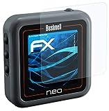 atFoliX Lámina Protectora de Pantalla Compatible con Bushnell Neo Ghost Película Protectora, Ultra Transparente FX Lámina Protectora (3X)