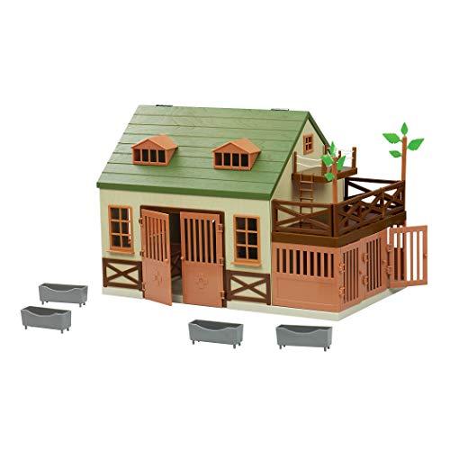 Terra by Battat – Animal Hospital - Wooden Toy Vet Clinic Playset for Kids 3+ (15 pc)