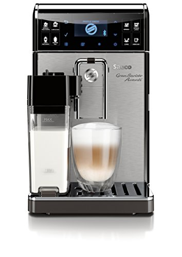 Saeco GranBaristo Avanti Super Automatic, Connected, Espresso Machine, Stainless Steel, HD8967/47