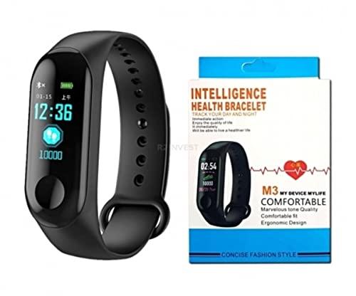 Cracksin Smartwatch M3, Fitness-Tracker,...