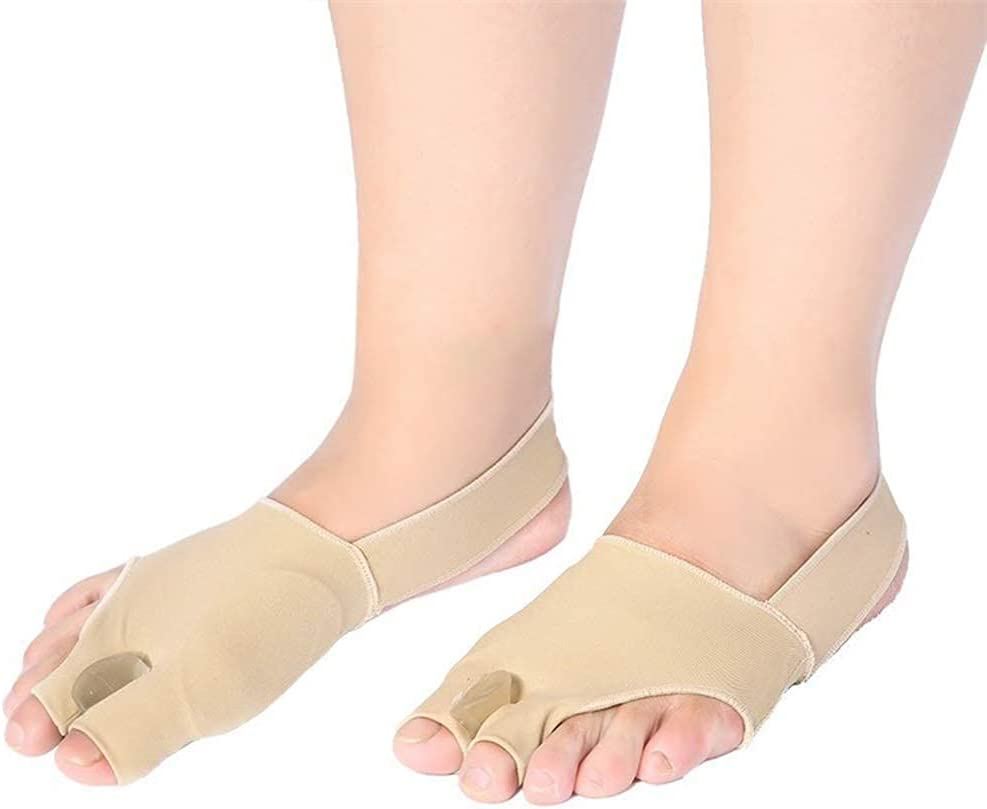 CCAN Ortesis de Hallux Valgus Separador de Huesos de pie Grande para Hombres y Mujeres para aliviar el Dolor del Dedo del pie Protector de superposición del Dedo del pie (tamaño: S) Harmonious Home