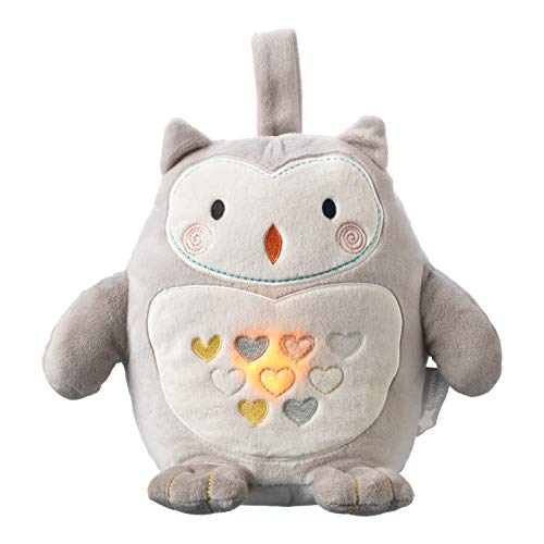 Tommee Tippee Grofriend Rechargable Light and Sound Baby Sleep Aid, Ollie The Owl