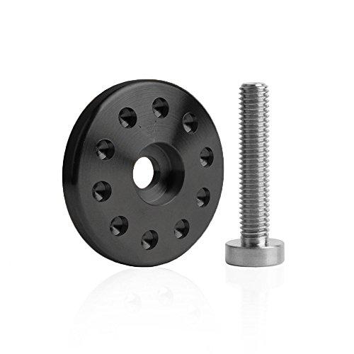 Preisvergleich Produktbild BMWRnine-T,  Befestigung Auspuffhalterung CNC,  schwarz,  RACEFOXX