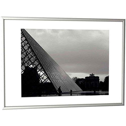 Paperflow 80042 fotolijst, A3, aluminium, kunststof, metaal