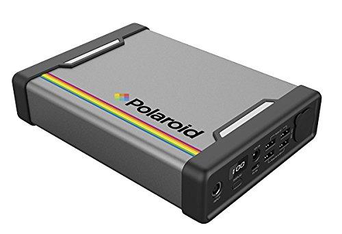 Polaroid  PS300 Energiespeicher 289Wh, Mobile AC/DC Steckdose, AC 220V, 100W Ausgangsleistung, wiederaufladbar (Heim/Solar)