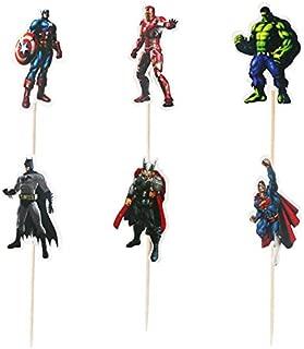 superman figurine cake topper
