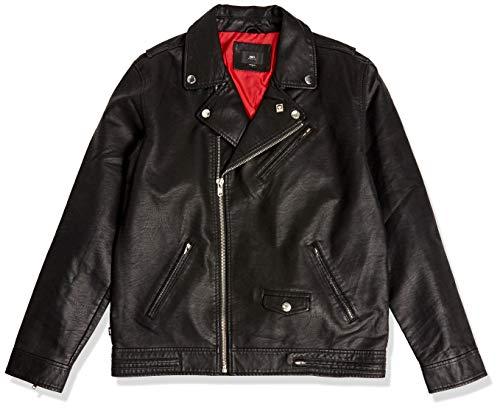 Obey Men's Bastards Polyurethane Jacket, Black, Small