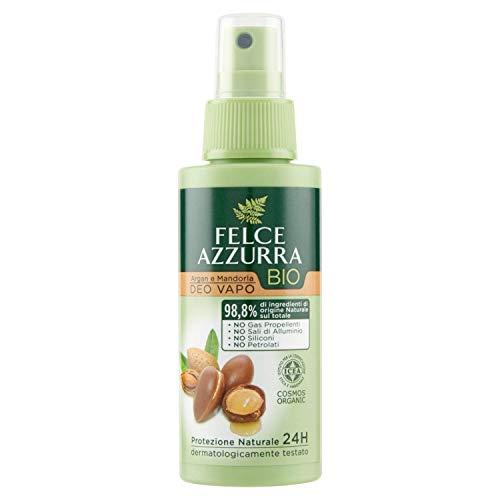 Felce Azzurra Bio - Deodorante Vapo Argan e Mandorla, Protezione Naturale 24h - 75 ml