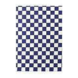 藍の市松 御朱印帳 117976