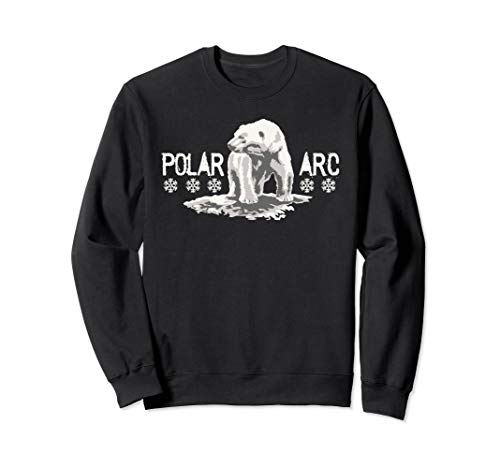 Rettet die Eisbären Schutz für die Antarktis Klimawandel Sweatshirt